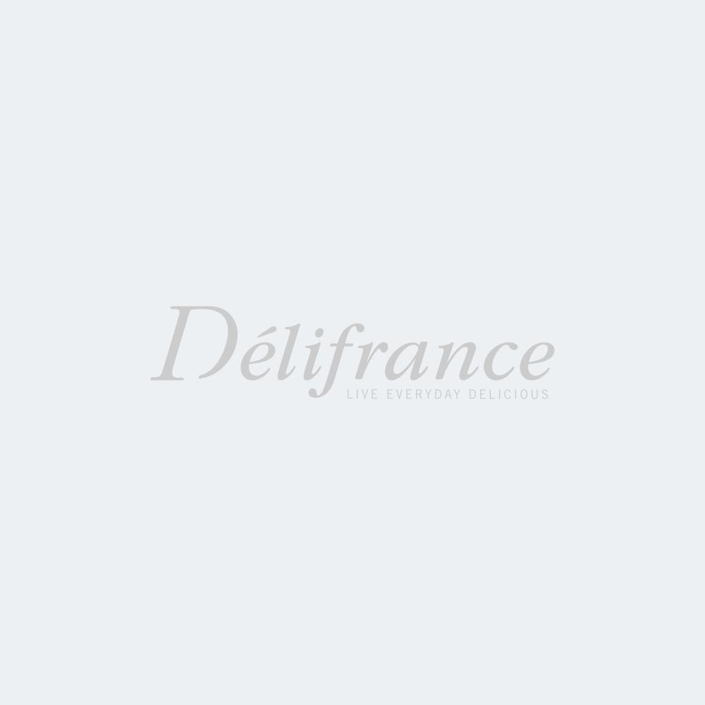 Mini bouchées (grzyby, czosnek i natka pietruszki; kalafior i brokułu; łosoś i koperek; pomidory, ser kozi i bazylia; tartiflette)