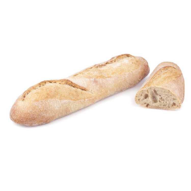 Half baguette with sourdough