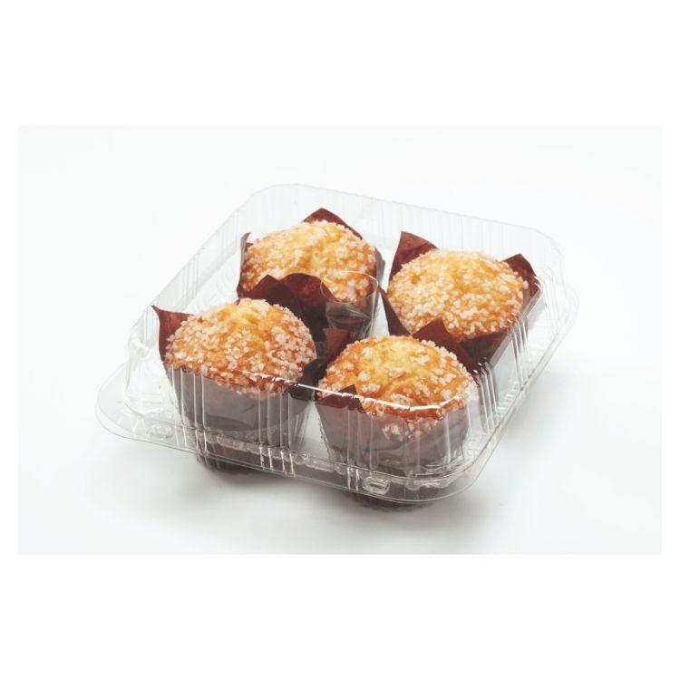 Muffin fourré abricot décor sucre