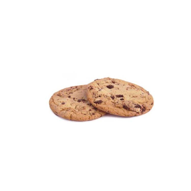 Cookie americano con gocce di cioccolato