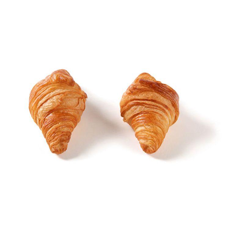 Mini Croissant Recto (24% mantequilla)