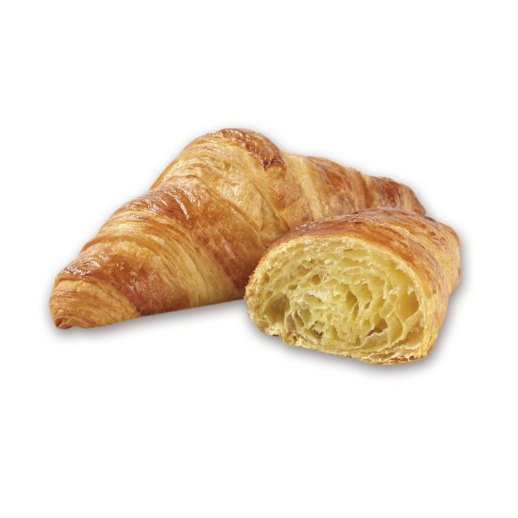 Straight butter croissant