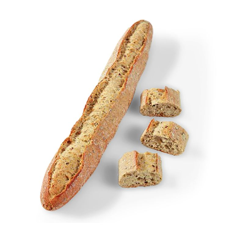 Seeded baguette signed by pascal tepper