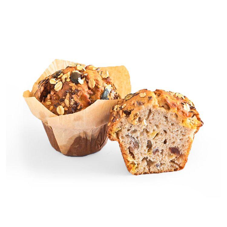 Breakfast Muffin Pomme, Figues et raisins