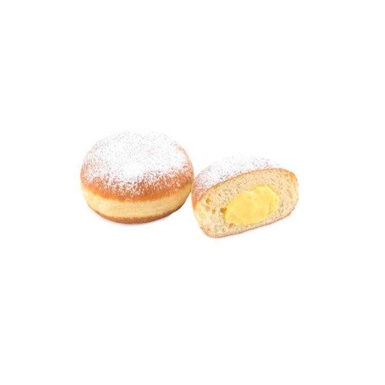 Berlina crema pastelera