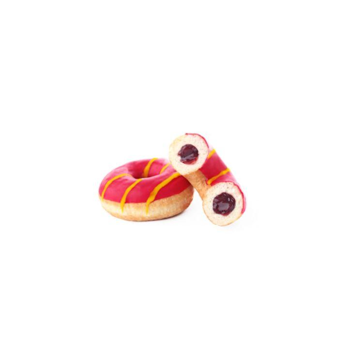 Donut Glam farcito ai frutti di bosco