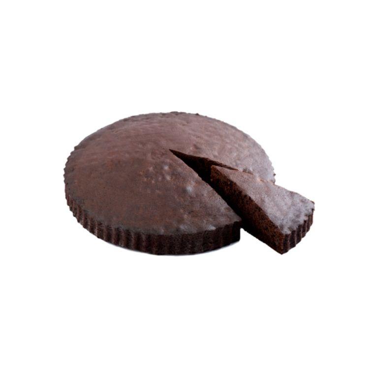 Torta caprese al cioccolato e sale di Sicilia