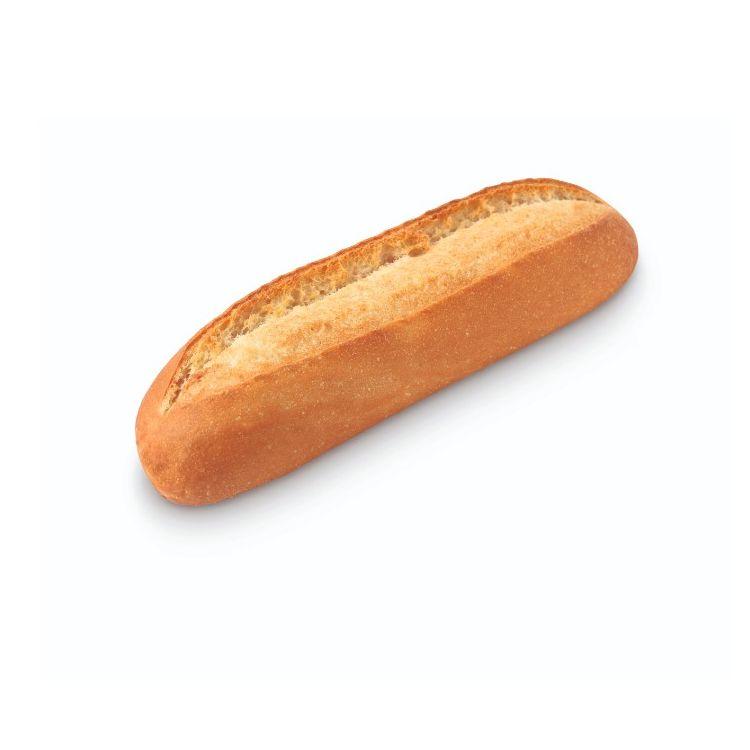 Small white sandwich baguette