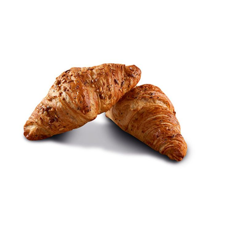 Mini seeded croissant