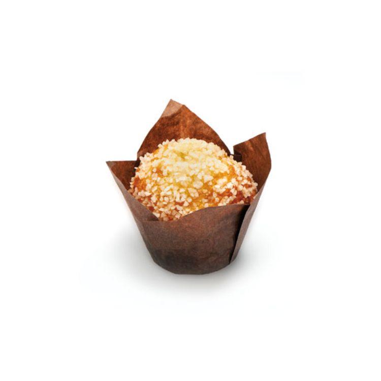 Muffin Tulipano farcito all'albicocca