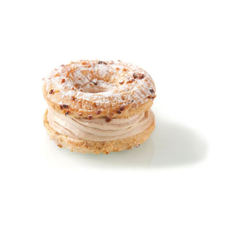 Paris brest with chopped almonds 80g