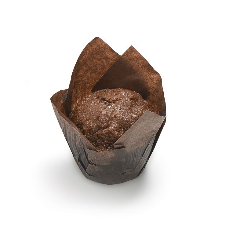 Mini muffin cacao chocolat noisettes