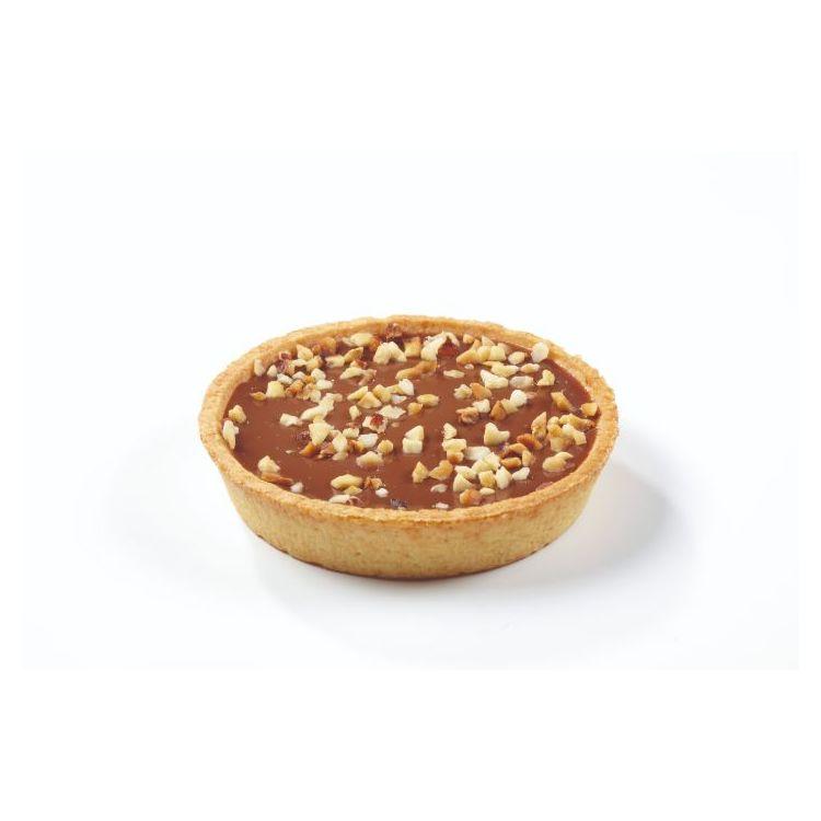 Tartaleta caramelo avellana