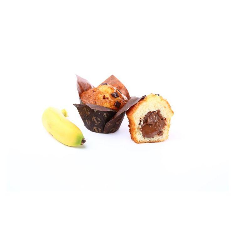 Eden chocolate y plátano relleno chocolate