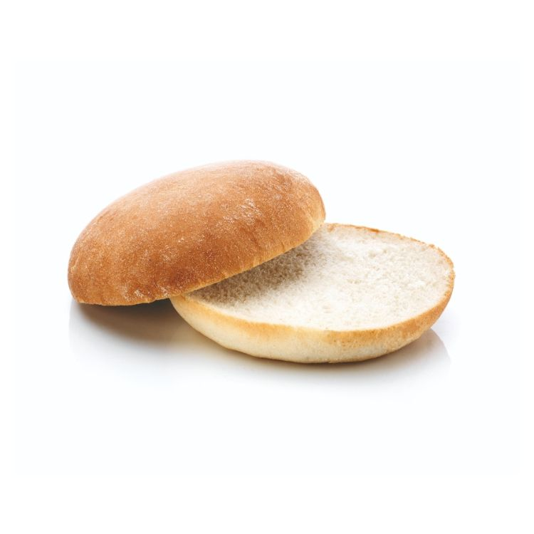 Hamburgerbröd Ljust mjölat 75g