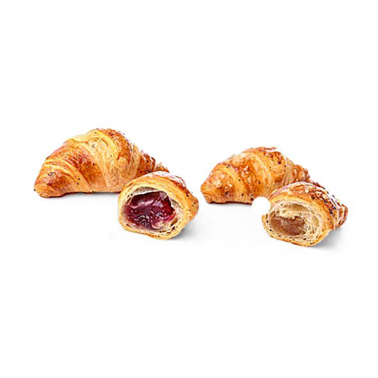 Mix mini croissant integrali e semi farciti