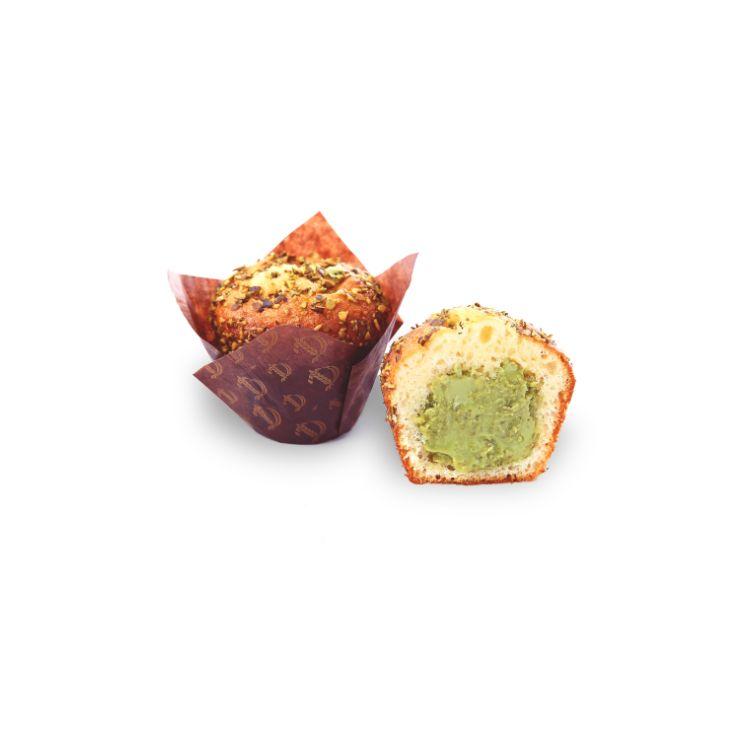 Muffin Tulipano farcito al pistacchio