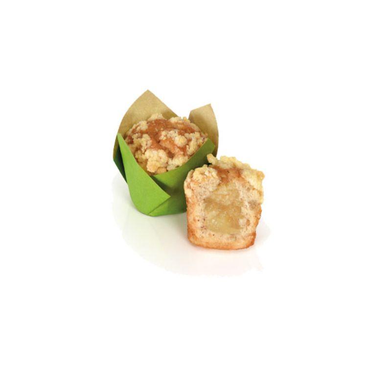 Mini Muffins Apfel, Streusel