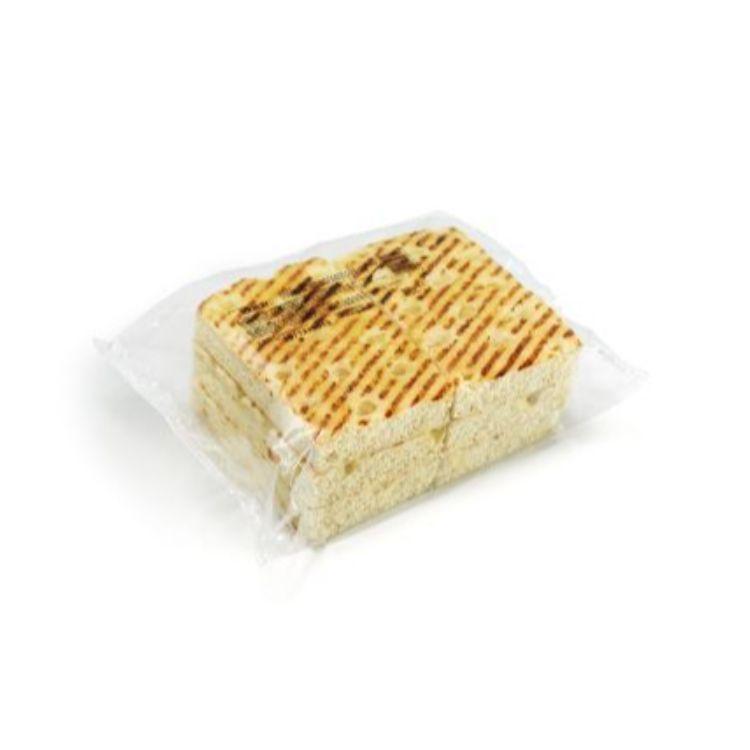 Focaccia panini wit pre-sliced