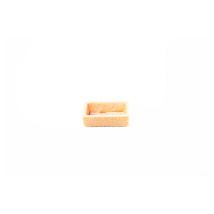 A la folie sweet tartlet rectangle, 5cm x 2.5cm