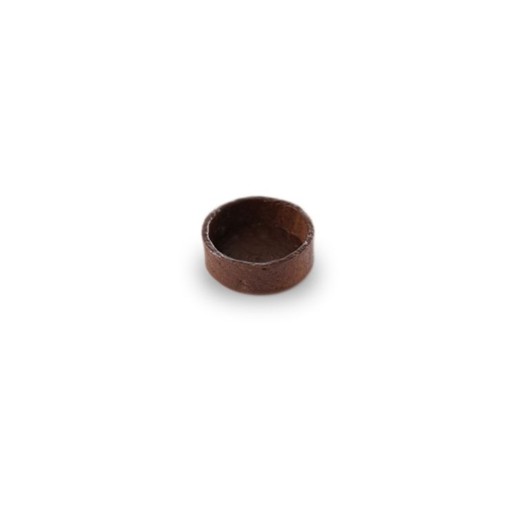 A la folie chocolate tartlet round, 5cm