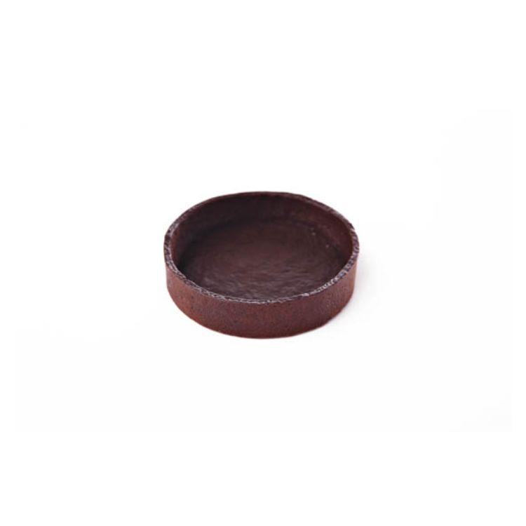 Βάση τάρτας σοκολάτα στρογγυλή 100 mm