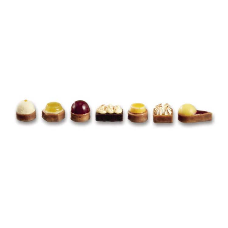 Fruit petits fours selection