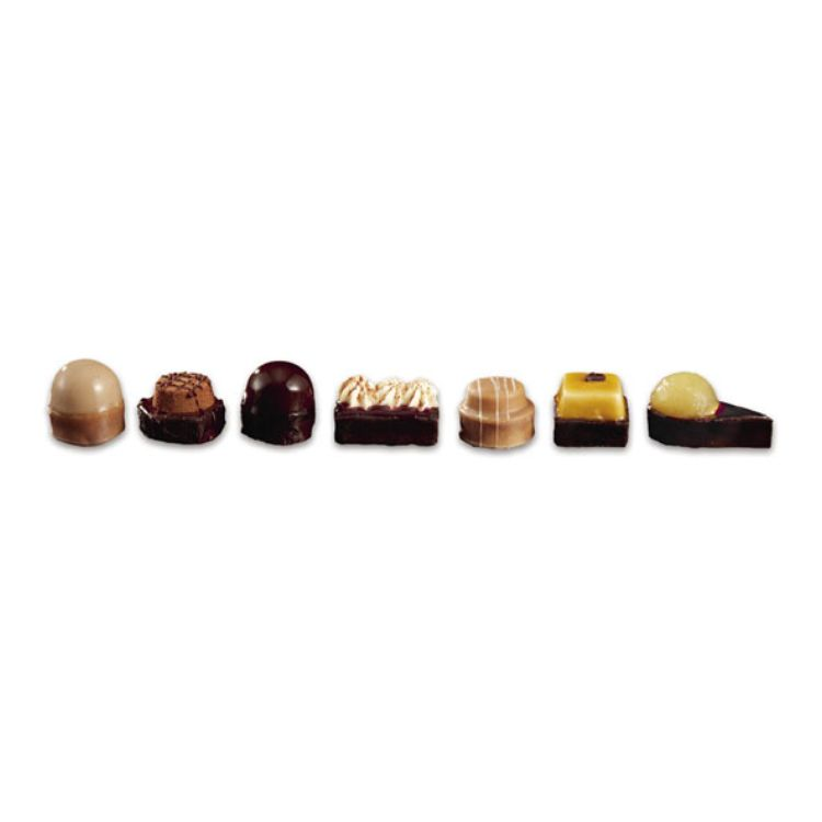 Chocolate petits fours selection
