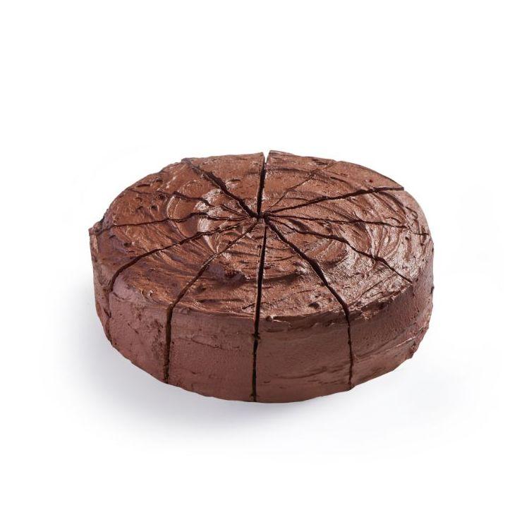 Chocolade-fudgetaart (12 stukken)