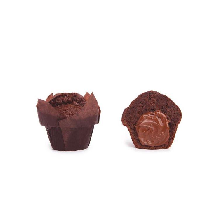 Muffin Chocolate Relleno al Chocolate