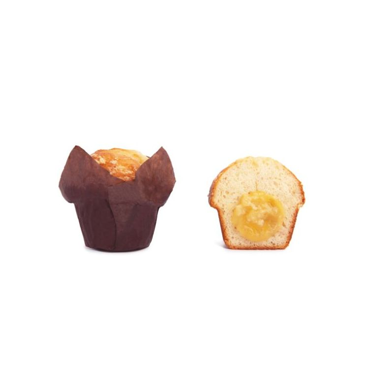 Muffin Relleno de Manzana y Canela