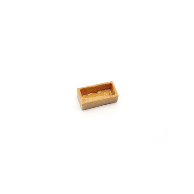Savoury tart shell rectangular 5x2.5cm