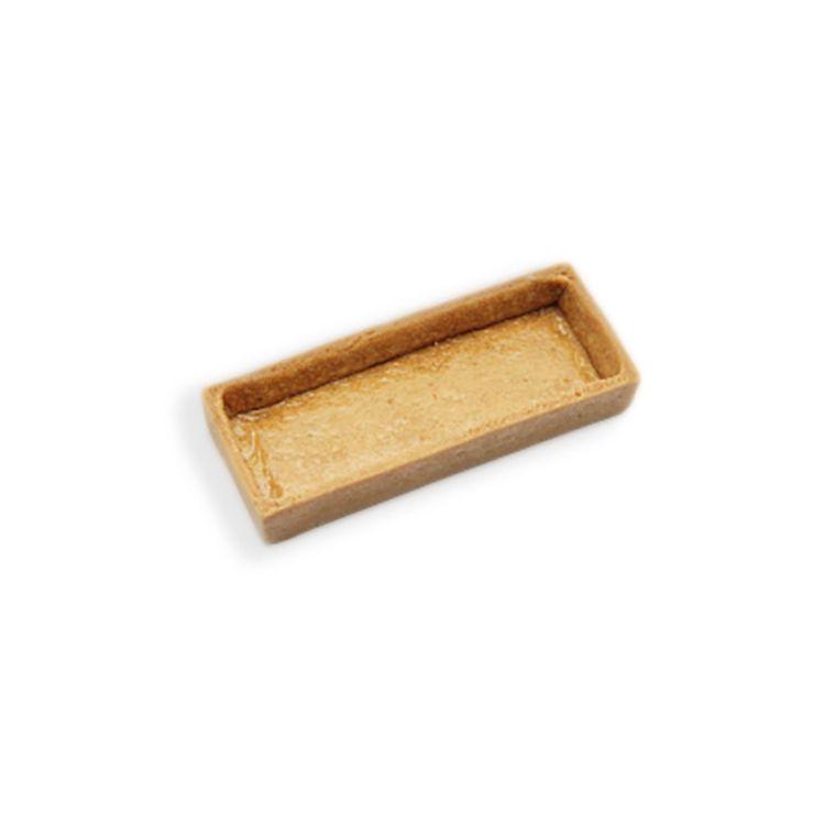Savoury tart shell rectangular 10x3.8cm