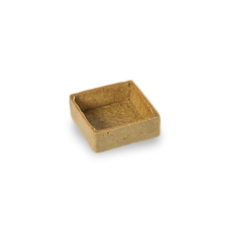 Savoury tart shell square 5 cm