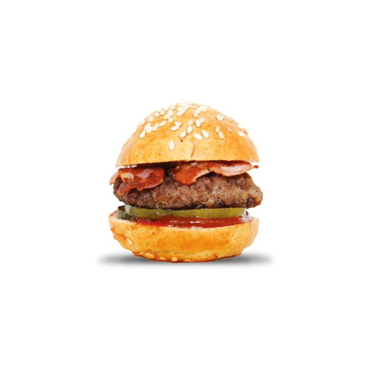 Mini Bacon Burger