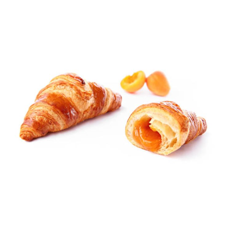 Croissant superfarcito all'albicocca