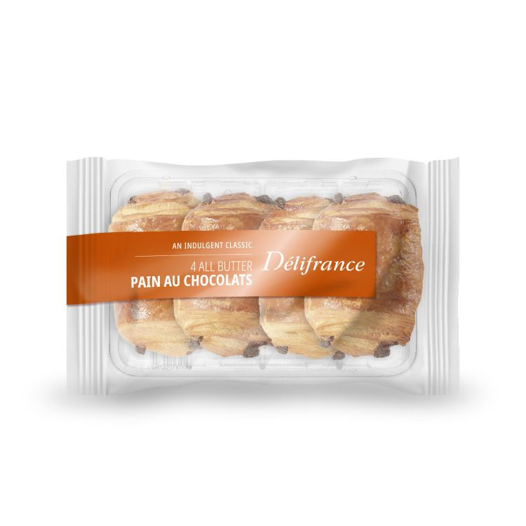 4 pack butter pains au chocolat