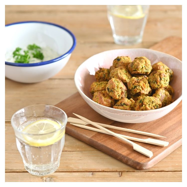 VEGGIE BALLS - NO WASTE ALL TASTE RECIPE
