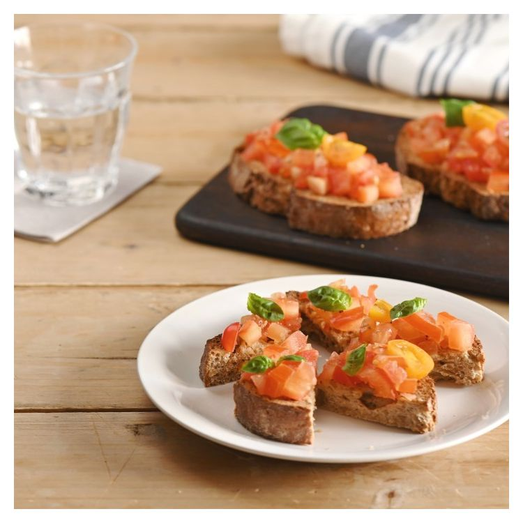 BRUSCHETTA - NO WASTE ALL TASTE RECIPE