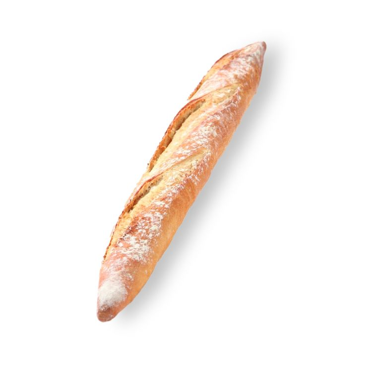 Rustic white baguette