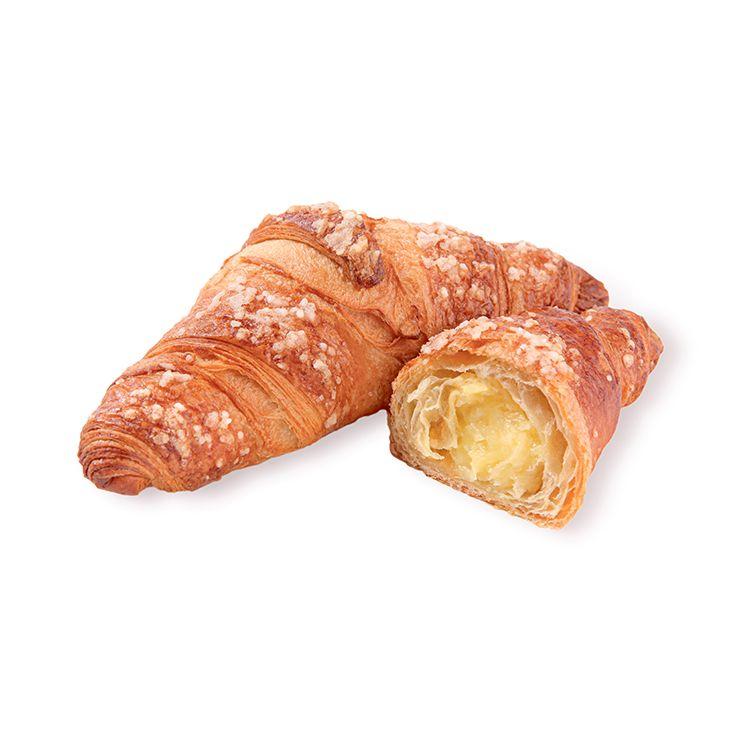 Zitronen-Crème-Croissant