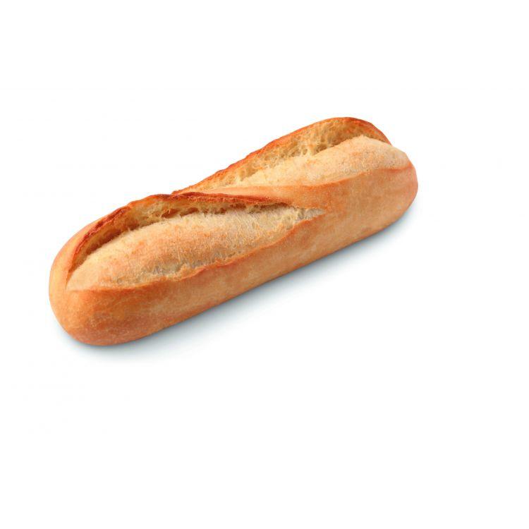 Small white sandwich baguette - fully baked