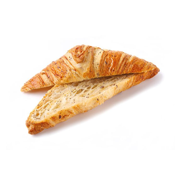 Butter croissant multiseeds white crumb