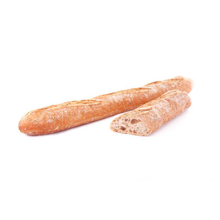 Rustic baguette aux graines