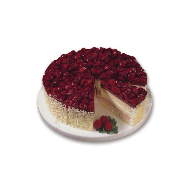 Himbeer-Jogurt-Sahne-Torte
