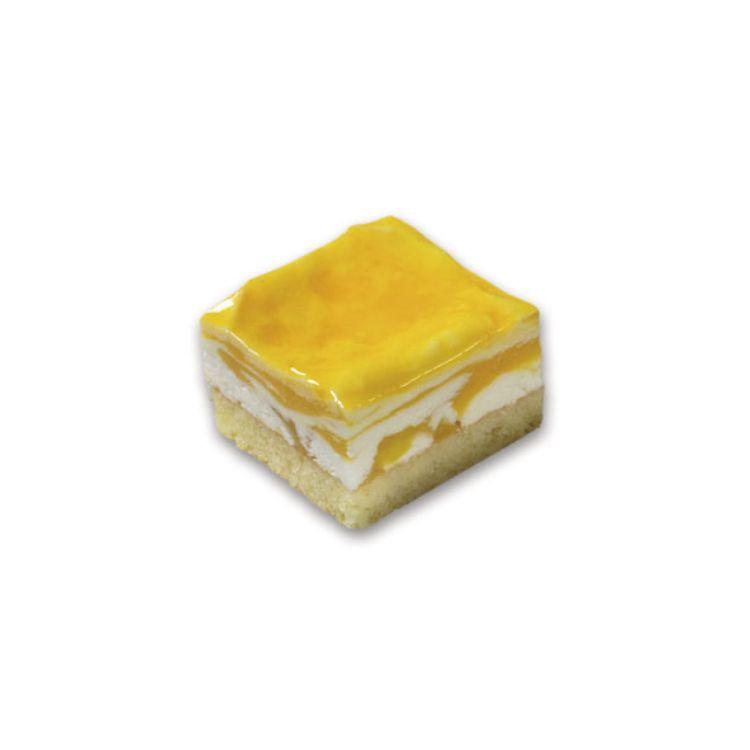 Mango-Schnitte mit Creme Fraiche