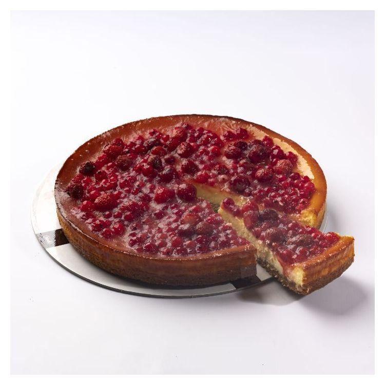 Cheesecake  φράουλα και βατόμουρο Bindi