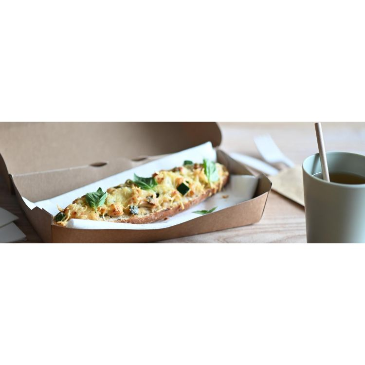 CHICKEN, COURGETTE AND PESTO-TOPPED BAGUETTE - A NO WASTE, ALL TASTE RECIPE