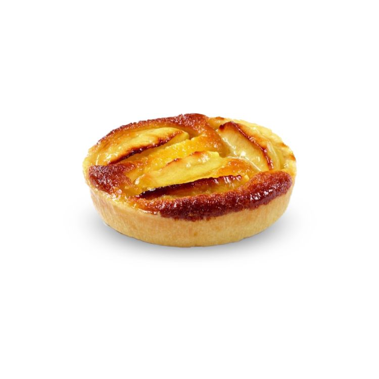 Normandy apple tartlet
