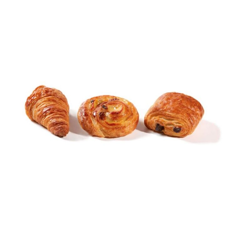 Mixed viennoiserie selection